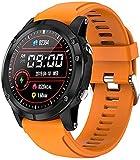 Reloj inteligente para mujeres y hombres ritmo cardíaco sangre...