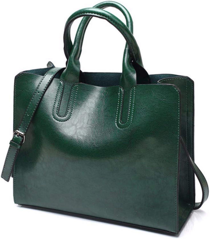 JQSM Pu Leather Women Handbag Designer Casual Messenger Bag Large Capacity Shoulder Bags