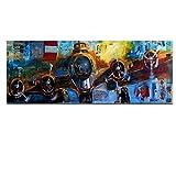 YSNMM Avión Pintura Abstracta Arte De La Pared Imágenes Sala De Estar Planes De Gran Tamaño Impresos En Lienzo Decoración Moderna Sin Marco