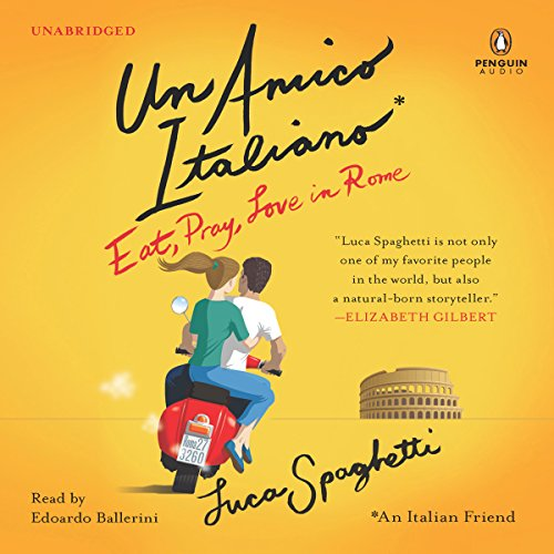 Un Amico Italiano audiobook cover art