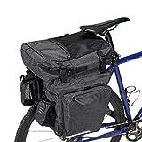 AYCPG Bolsa de Tronco de Bicicleta Bicicleta Bolsa de Carga Impermeable Ciclismo Equipaje Bolsa de Bicicleta Mountain Bike Pack Bag para Montar Touring Ciclismo Accesorios lucar