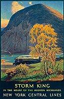 ヴィンテージメタルティンサインインチ、ニューヨークセントラルライン、バークラブカフェファームの家の装飾アートポスターに適しています