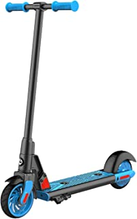 """Gotrax GKS Electric Scooter for Kids Age of 6-12, Kick-Start Boost and Gravity Sensor Kids Electric Scooter, 6"""" Wheels UL ..."""