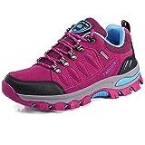 BOLOG Zapatos de Senderismo para Hombre Zapatos de Low Rise Trekking Ocio al Aire Libre y Deportes...