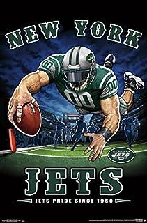 "Trends International NFL New York Jets - End Zone, 22.375"" x 34"", Unframed Version"