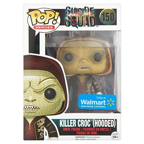 - Figurine DC Heroes Suicide Squad - Killer Croc Hooded Exclu Pop- Matière vinyl- Vendu sous