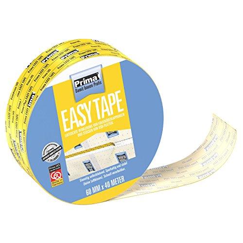 Prima Easy Tape Klebeband 40m Rolle luftdicht verkleben Dampfsperren Dampfbremse 1 Stck
