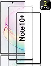Compatible for Galaxy Note 10 Plus Screen Protector,Full Coverage No Bubble 9H Hard Tempered Glass Screen Protector Compatible Samsung Galaxy Note 10+ / Note 10+ 5G 6.8 inch [2-Packs]