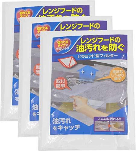 Poweka Filtro Universal para Campana Extractora de Cocina, Filtros de Papel para Grasa y Olores para Campana Extractora de Humo 43 x 45cm (3 Paquetes/Cada 12 Piezas)