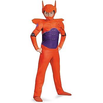 Amazon Com Disney Red Baymax Big Hero 6 Classic Boys Costume Clothing