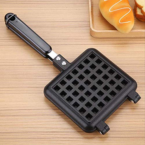 Waffel Maker, Anti-stick Waffeln Maker Form Tragbare Eisen Maschine Haushalt Küche Gas Pan Blase Ei Kuchen Backofen Frühstücksmaschine