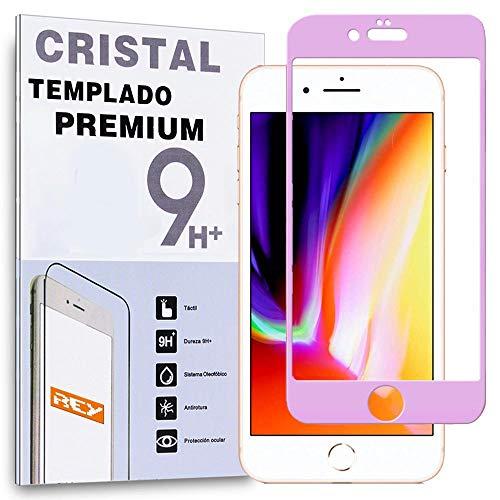 Protector de Pantalla Curvo para iPhone 6 / iPhone 6S, Rosa, Cristal...