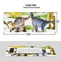 恐竜 ドラゴン マウスパッド キーボードパッド 滑らかマウスパッド ゲーミングパッド 大型 オフィス 家庭用