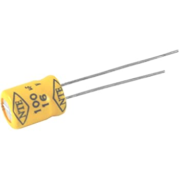 450V Inc. 20/% Tolerance Radial Lead NTE Electronics VHT10M450 Series VHT Aluminum Electrolytic Capacitor 10 /µF Capacitance 105 Degree Max Temp