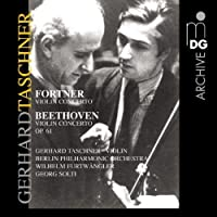 Fortner: Violin Concerto; Beethoven: Violin Concerto, Op. 61 by GERHARD / BERLIN PHILHARMONIC / SOLTI,GEORG TASCHNER (2002-07-23)