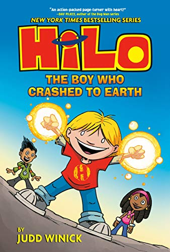 Hilo Book 1: The Boy Who Crashed to Earth (English Edition)