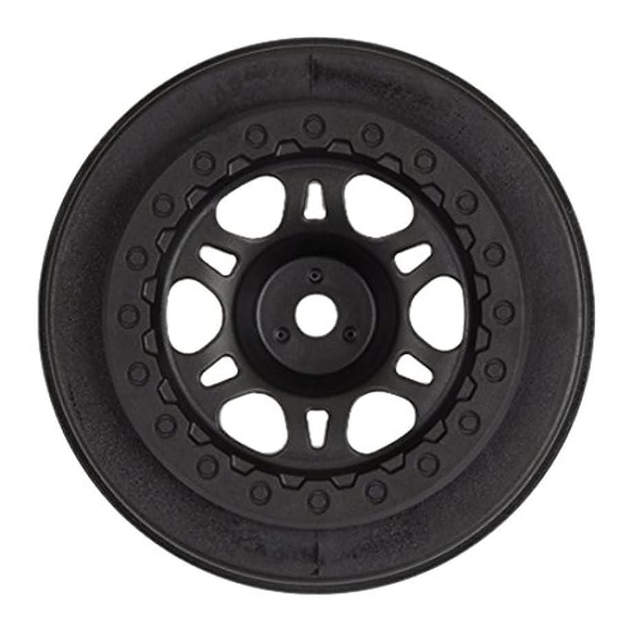 PROLINE 272002 Split Six Black One-Piece Front Wheel (2)