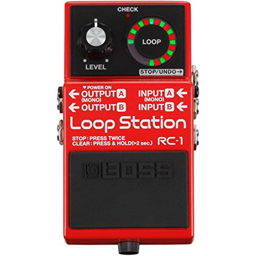 BOSS RC-1 Loop Station, SraightForward Looper, Easy to Operate