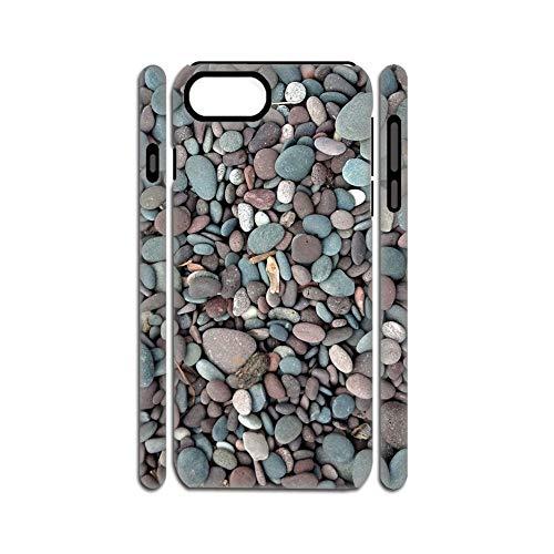 para El Hombre con Beautiful Cobblestone 2 Cajas del Teléfono Suave Silicio Y Plásticos Hermosa Compatible con Apple iPhone 7 Plus 8 Plus 5.5Inch Choose Design 120-1