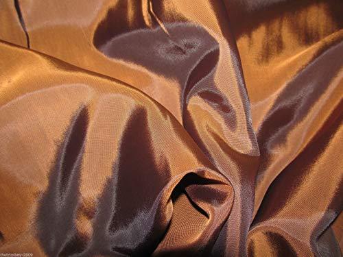 Tela de forro de cobre para vestido, calidad superior, forro para chaquetas y vestidos, 150 cm