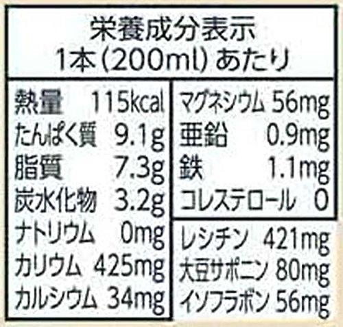 キッコーマン飲料おいしい無調整豆乳200ml×18本