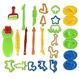 Juguetes para niños Play House DIY Color Mud Tool Mold Set Herramientas de plastilina Ambiental Moda Profesional portátil -BCVBFGCXVB