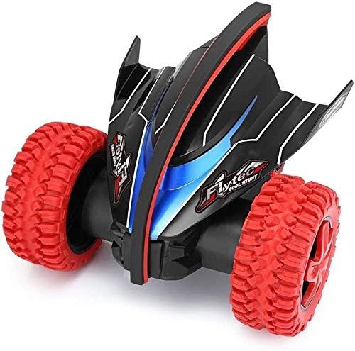 2.4G coche teledirigido RC Vehículo eléctrico Bigfoot Escalada Stunt Car con baterías recargables de 360 grados de rotación del balanceo giratorios de coches de juguete for niños for Niños Niñas reg