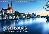 Regensburg - Welterbestadt an der Donau (Tischkalender 2019 DIN A5 quer): UNESCO-Welterbestadt Regensburg (Monatskalender, 14 Seiten ) (CALVENDO Orte) - Val Thoermer