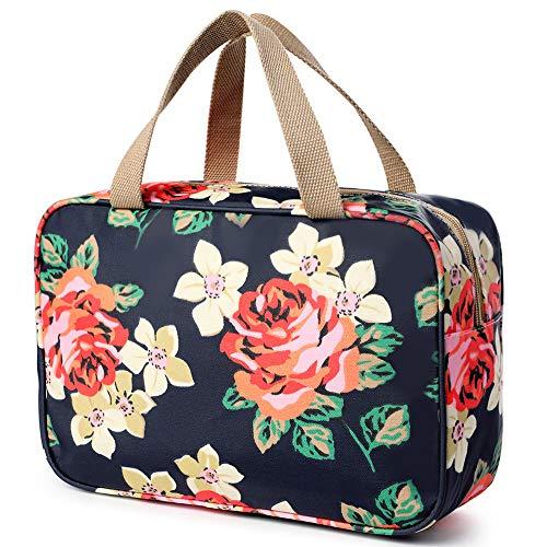 Kulturbeutel Reisen hängen bilden waschen Taschen große tragbare wasserdichte kosmetische Kosmetiktasche Make-up Veranstalter Toilettenartikel Aufbewahrungskoffer für Frauen Mädchen Damen Urlaub