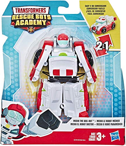 Transformers Rescue Bots Academy Medix Ambulance 4.5' Toy Converting Action Figure