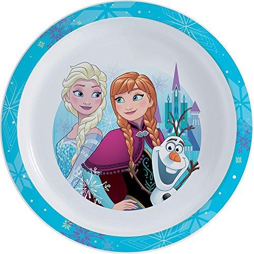 Fun House 005516Disney Frozen Plato Micro-ondable para niños Polipropileno Azul 22x 22x 1cm