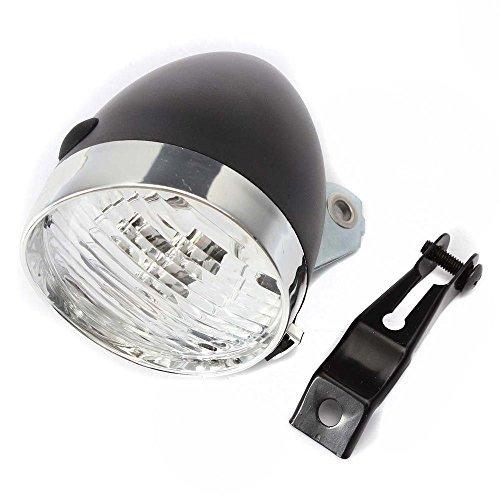 Arpoador 1pc Retro para bicicleta 3LED luz delantera para faros delanteros Vintage linterna lámpara de nuevo