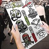 Broken Head Aufkleber Bogen Identity A3 - Sticker - Decal - Dekor - Sponsoren Aufkleber -