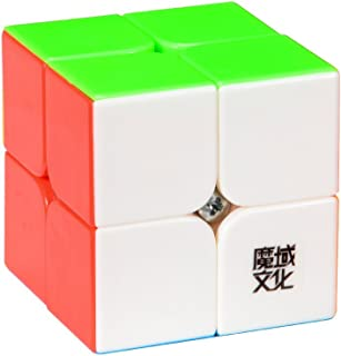 MoYu New YJ Lingpo Speed Smooth 2 x 2 Stickerless Cube Puzzle