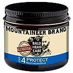 Mountaineer Brand Bald Head Care - Protect - Men's All Natural Moisturizing Balm Daily Moisturizer 2 oz. 2