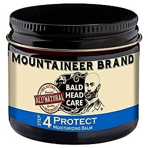 Mountaineer Brand Bald Head Care - Protect - Men's All Natural Moisturizing Balm Daily Moisturizer 2 oz. 11
