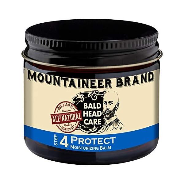 Mountaineer Brand Bald Head Care - Protect - Men's All Natural Moisturizing Balm Daily Moisturizer 2 oz. 1