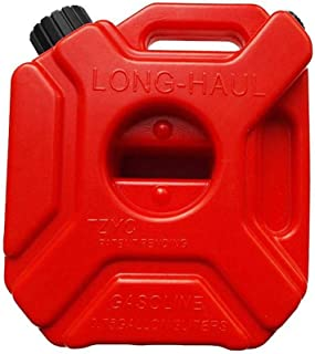 Yunhigh Bidón Gasolina 5L Jerry Can Espesante Anti Estático Plástico de Alta Resistencia Aceite de Combustible Barril Contenedor de Almacenamiento Contenedor de Almacenamiento Cubo de bidón