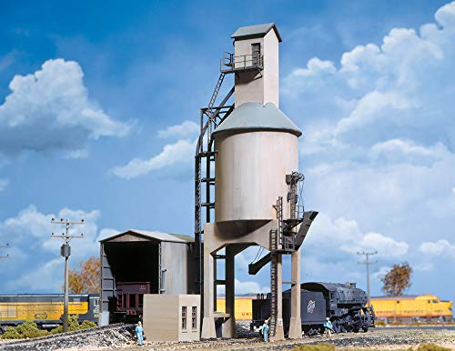 Walthers Cornerstone Series Kit HO Scale Concrete Coaling Tower