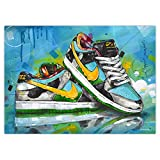 SB Dunk Low Ben & Jerry's Chunky Dunky (70 x 50 cm) *Sin marco