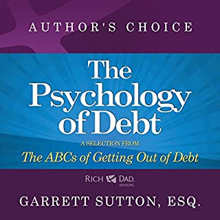 The Psychology of Debt audiobook cover art