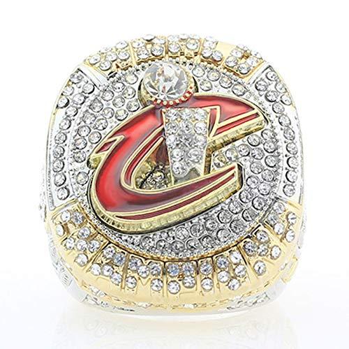 KHHK Cleveland Cavaliers 3D Diamond Bling Rings NBA Premium Series 23# James Male's Rings