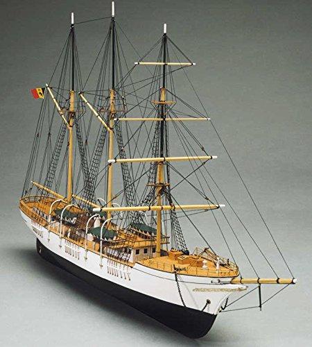 輸入木製帆船模型キット マンチュアモデル MT757 メルカトール