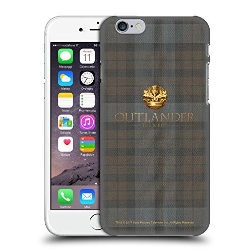 Head Case Designs Licenza Ufficiale Outlander Plaid Tessuto di Lana Scozzese Cover Dura per Parte Posteriore Compatibile con Apple iPhone 6 / iPhone 6s