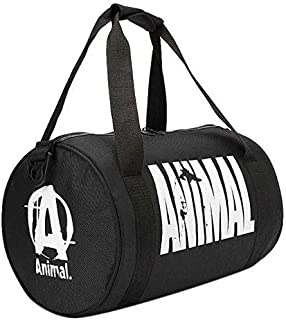 Swole Nation Mixed Duffle Bag For Unisex,Black - Sport & Outdoor Duffle Bags - 2724557156147