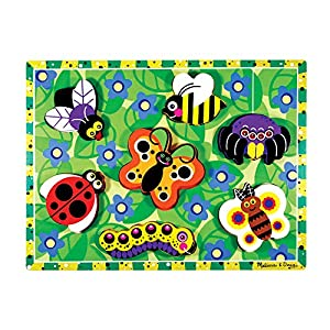 Melissa & Dough Insects Chunky Wooden Puzzle