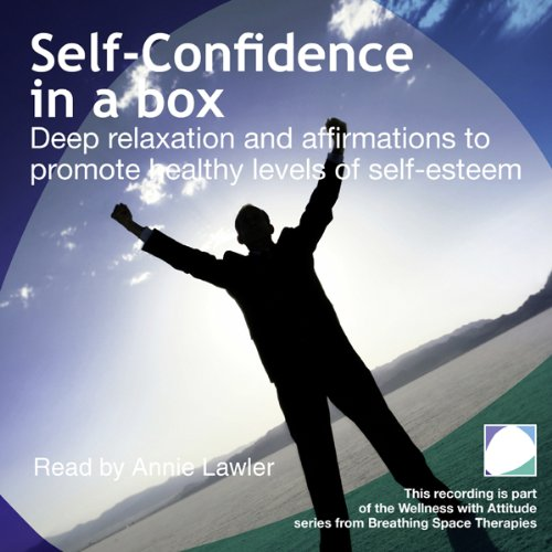 Self Confidence in a box audiobook cover art