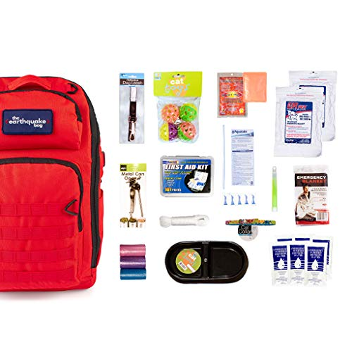 Redfora Complete Emergency Bag for Cats - Keep Your pet Safe...