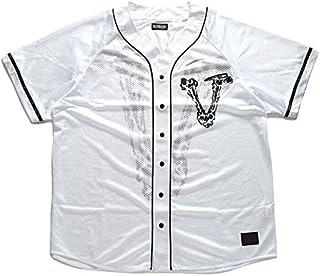 [ゼファレン] ベースボールシャツ ゲームシャツ メンズ Z20UD05