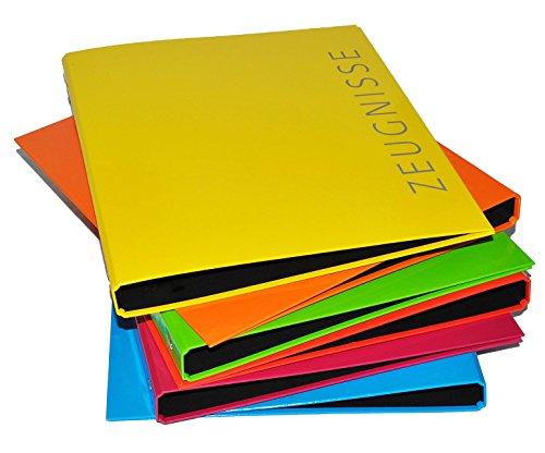 alles-meine.de GmbH Sammelordner / Ringbuch  Zeugnisse  ROT A4 - für Dokumente / Zeugnis / Zeugnisheft / Zeugnismappe / Zeugnisordner / Dokumentenmappe - Ordner Ringordner - Al..